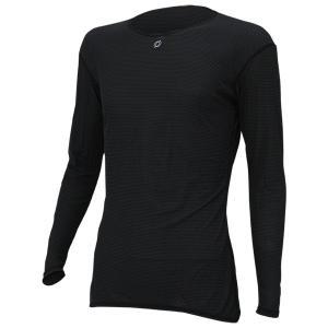 ONYONE オンヨネ ブレステックPP L/S アンダー/ブラック009/S ODJ98514 Tシャツ アンダーシャツ アウトドア 釣り 旅行用品 男性用インナー 長袖シャツ|od-yamakei