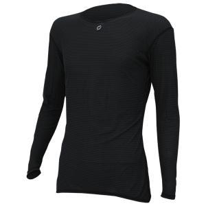 ONYONE オンヨネ ブレステックPP L/S アンダー/ブラック009/O ODJ98514 ブラック Tシャツ アンダーシャツ アウトドア 釣り 旅行用品 男性用インナー|od-yamakei