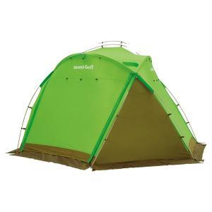 mont-bell モンベル アストロドーム S/GN 1122516 グリーン アウトドア 釣り 旅行用品 キャンプ 登山 イベントテント イベントテント アウトドアギア|od-yamakei