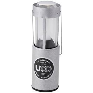 UCO ユーコ キャンドルランタン/アルミ 24353 シルバー 灯油ランタン アウトドア 釣り 旅行用品 キャンプ ランタン灯油 アウトドアギア od-yamakei
