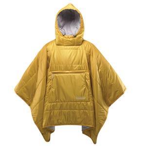 thermarest サーマレスト ホンチョポンチョ/レモンカリー 30915 イエロー 毛布 ブランケット アウトドア 釣り 旅行用品 ポンチョ型 ポンチョ型|od-yamakei