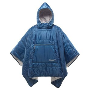 thermarest サーマレスト ホンチョポンチョ/ポセイドン 30916 ブルー 毛布 ブランケット アウトドア 釣り 旅行用品 ポンチョ型 ポンチョ型|od-yamakei