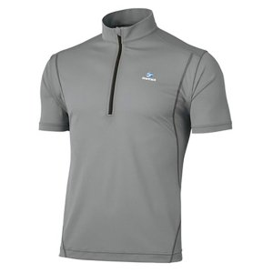 finetrack ファイントラック ドラウトフォースジップT Ms AG FMM1102 男性用 グレー シャツ ポロシャツ アウトドア 釣り 旅行用品 半袖シャツ|od-yamakei