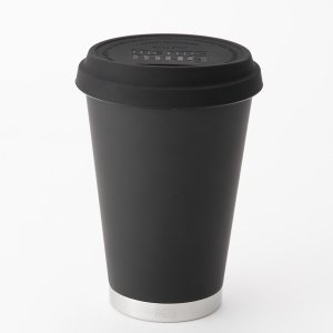 thermo mug(サーモマグ) Coffe tumbler(コーヒータンブラー)/BLK(6) CF15-35 ブラック タンブラーグラス キッチン 日用品 文具 食器 カトラリー|od-yamakei
