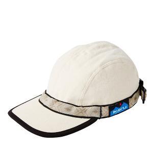 KAVU カブー Strapcap/Natural/L 11863001 ホワイト ファッション メンズファッション 財布 ファッション小物 帽子 ウェアアクセサリー od-yamakei