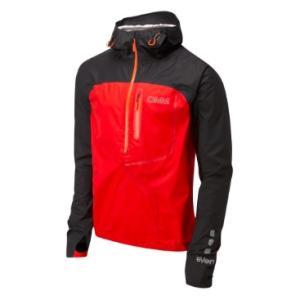 OMM AetherSmock/Black/Red/M OC082_03 レインジャケット レインウエア ウエア レインウェア(ジャケット) レインウェア男性用(男女兼用) アウトドアウェア|od-yamakei