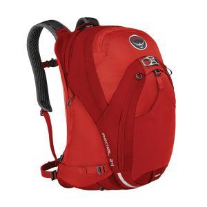OSPREY オスプレー ラディアル 34/ラーバレッド/M/L OS56041 男性用 レッド 車 バイク 自転車 自転車 自転車アクセサリー バッグ 自転車用バッグ|od-yamakei