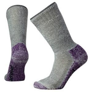 SmartWool スマートウール Ws マウンテニアリング/ミディアムグレー/マウンテンパープル/M SW71236 女性用 グレー クルーソックス ファッション 下着 靴下|od-yamakei