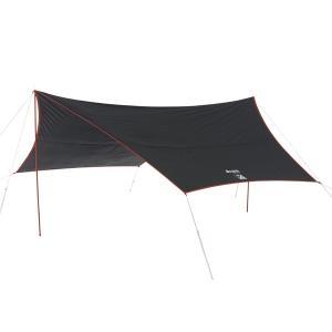 OUTDOOR LOGOS ロゴス Black UV ヘキサタープ5750-AI 71808022 レクタタープ アウトドア 釣り 旅行用品 キャンプ ヘキサ・ウイング型タープ|od-yamakei