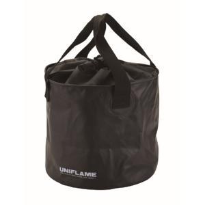 UNIFLAME ユニフレーム fan バケツ 660010 ブラック アウトドア ウォータージャグ 釣り 旅行用品 バケツ バケツ アウトドアギア|od-yamakei