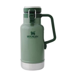 STANLEY スタンレー 真空グロウラー1L/グリーン 02111-007 水筒 アウトドア 釣り 旅行用品 キャンプ ボトル 保温・保冷ボトル アウトドアギア od-yamakei