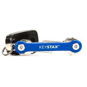 KEYSMART キースマート KEYSTAX ブルー 15012 キーホルダー キーリング ファッション メンズファッション 財布 ファッション小物|od-yamakei