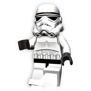 LEGO レゴ ストームトルーパートーチII 37388 ホワイト トイレ用ペーパーホルダーカバー キッチン 日用品 文具 トイレ用品 雑貨インテリア|od-yamakei