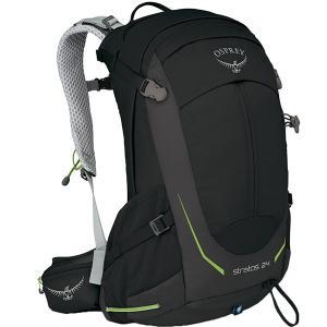 OSPREY オスプレー ストラトス 24/ブラック OS50304 男性用 バックパック ザック アウトドア 釣り 旅行用品 トレッキングパック od-yamakei