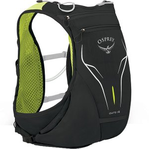 OSPREY オスプレー デューロ 1.5/エレクトリックブラック/S/M OS56012 男性用 ブラック スポーツ マラソン ランニング バッグ トレラン用パック|od-yamakei