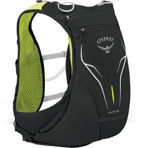 OSPREY オスプレー デューロ 1.5/エレクトリックブラック/M/L OS56012 男性用 ブラック スポーツ マラソン ランニング バッグ トレラン用パック|od-yamakei