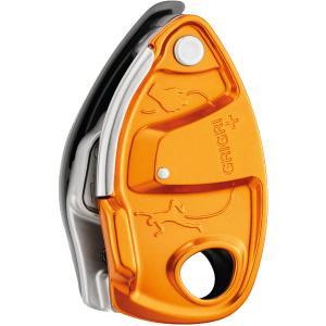 PETZL ペツル グリグリ+ オレンジ D13AAG クイックドロー アウトドア 釣り 旅行用品 キャンプ ディッセンダー 確保器 アウトドアギア|od-yamakei