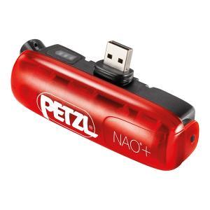 PETZL ペツル NAO+バッテリー E362002B ヘッドライト ヘッドランプ アウトドア 釣...