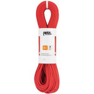 PETZL ペツル ルンバ 8.0mm/50 m/レッド R21BR050 クライミングロープ アウトドア 釣り 旅行用品 キャンプ ダブルロープ アウトドアギア od-yamakei