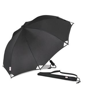 EuroSCHIRM ユーロシルム Swingliteflex リフレクト BK 19570001 ブラック レインウエア ファッション メンズファッション 財布 ファッション小物 雨具 od-yamakei