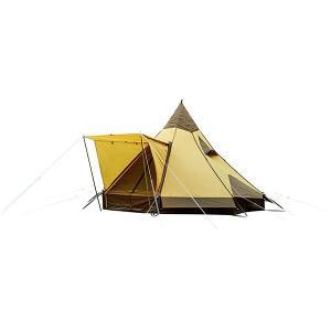 ogawa campal(小川キャンパル) ピルツ12/ブラウン×サンド 2725 ドーム型テント アウトドア 釣り 旅行用品 キャンプ キャンプ用テント キャンプ6|od-yamakei