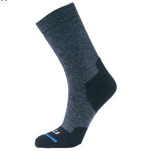 FITS フィッツ フィッツ ミディアム ハイカークルー ネイビー F1001 ショートソックス ファッション メンズファッション 下着 靴下 部屋着|od-yamakei