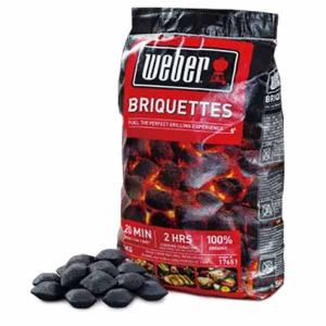 WEBER ウェーバー Weber Charcoal Briquetts 5kg 17651 チャコールブリケット5Kg チャコールブリケット5Kg アウトドア 釣り 炭|od-yamakei