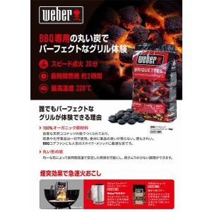 WEBER ウェーバー Weber Charcoal Briquetts 5kg 17651 チャコールブリケット5Kg チャコールブリケット5Kg アウトドア 釣り 炭|od-yamakei|02