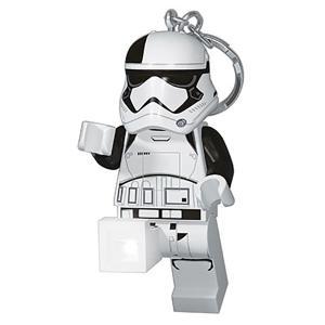 LEGO レゴ ファースト・オーダーストームトルーパーエクスキューショナーキーライト 37424 ホワイト キーホルダー キーリング ファッション 財布|od-yamakei