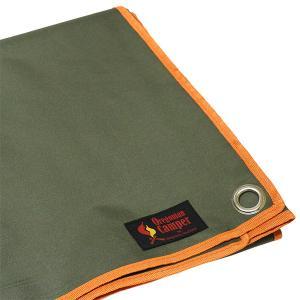 Oregonian Camper オレゴニアンキャンパー WPグランドシート/フォレスト/L OCA-501 テント用インナーシート マット アウトドア 釣り 旅行用品|od-yamakei