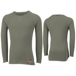 ONYONE オンヨネ メンズブレステック メリノPP ロングスリーブ(薄手)/003GRAY/S ODJ99500 男性用 グレー Tシャツ アンダーシャツ アウトドア 釣り|od-yamakei