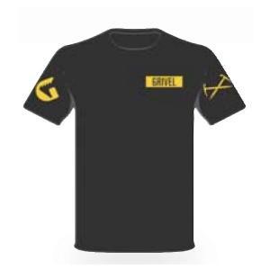 Grivel グリベル グリベル ロゴT/BK/S GV-PCTSHIRT ブラック シャツ ポロシャツ アウトドア 釣り 旅行用品 半袖Tシャツ 半袖Tシャツ男性用|od-yamakei