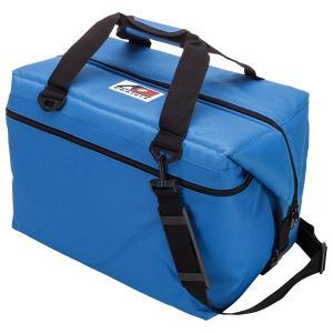AO Coolers エーオークーラー 48 パック キャンバス ソフトクーラー/ブルー AO48RB クーラーバッグ 保冷バッグ アウトドア 釣り 旅行用品 od-yamakei