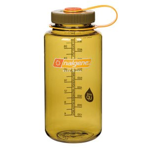 NALGENE ナルゲン ナルゲン広口1.0L/オリーブ 91435 グリーン 水筒 アウトドア 釣り 旅行用品 キャンプ ボトル 樹脂製ボトル アウトドアギア od-yamakei