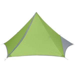 NEMO ニーモ・イクイップメント アポロ3P グリーン NM-APL-3P-GN 三人用(3人用) キャンプ大型シェルタータープ アウトドア 釣り 旅行用品|od-yamakei