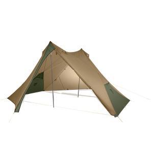 NEMO ニーモ・イクイップメント ヘキサライト 6P キャニオン NM-HEX-6P-CY ブラウン 六人用(6人用) タープテント アウトドア 釣り 旅行用品 キャンプ|od-yamakei