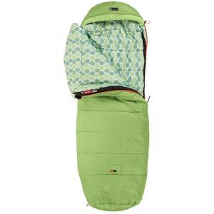 NEMO ニーモ・イクイップメント パンク 20 NM-PNK-20 子供用 グリーン 封筒型寝袋 アウトドア 釣り 旅行用品 キャンプ ジュニア用 アウトドアギア|od-yamakei
