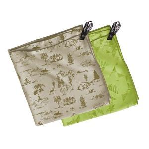 PackTowl パックタオル パーソナル/アブストラクトライム/BODY 29400 グリーン バンダナ ファッション レディースファッション 財布 ファッション小物|od-yamakei