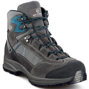 SCARPA スカルパ カイラッシュ LITE GTX/グレーシャーク/レイクブルー/#42 SC22012 グレー 登山靴 トレッキングシューズ アウトドア 釣り 旅行用品|od-yamakei