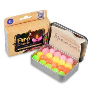 Bush Craft ブッシュクラフト) ファイヤーキャンディ Fire Candy 20粒入り 06-03orti0008 アウトドア燃料 固形燃料 アウトドア 釣り 旅行用品 着火剤|od-yamakei