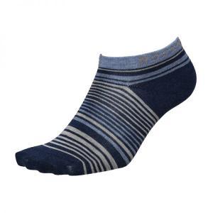 Caravan キャラバン ロックソックス・ミニボーダー/670ネイビー/M 0132018 ネイビー ファッション メンズファッション 下着 靴下 部屋着 ソックス|od-yamakei