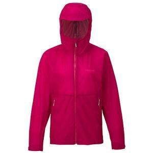 Marmot マーモット WS ZERO FLOW JACKET/SGA/XL TOWLJK02 女性用 ピンク レインジャケット アウトドア 釣り 旅行用品 キャンプ レインウェア女性用|od-yamakei