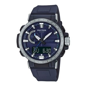 CASIO カシオ PRO TREK/PRW-60-2AJF PRW-60-2AJF 男性用 ネイビー 腕時計 ファッション アクセサリー メンズ腕時計 高機能ウォッチ アウトドアギア od-yamakei