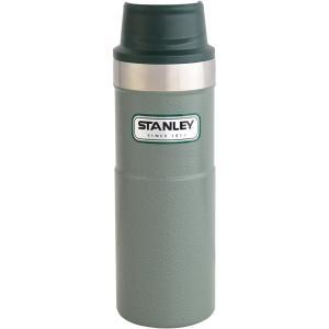 STANLEY スタンレー クラシック真空ワンハンドマグII 0.47L グリーン 06439-015 アウトドア用マグカップ コップ アウトドア 釣り 旅行用品|od-yamakei