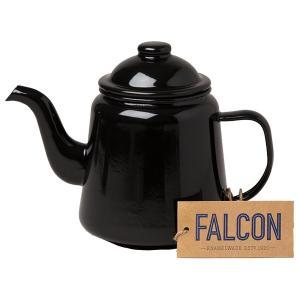 FALCON ファルコン ファルコン エナメルウェア ティーポット ブラック 7FCTP ケトル ア...
