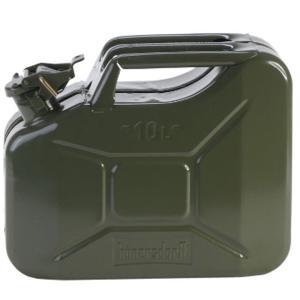 hunersdorff ヒューナースドルフ Metal Kanister CLASSIC 10L olive 434601 カーキ アウトドア 釣り 旅行用品 キャンプ 登山 燃料タンク 燃料タンク|od-yamakei