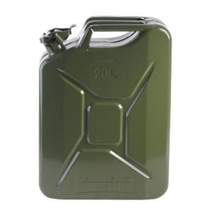 hunersdorff ヒューナースドルフ Metal Kanister CLASSIC 20L olive 434701 カーキ アウトドア 釣り 旅行用品 キャンプ 登山 燃料タンク 燃料タンク|od-yamakei