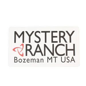 Mystery Ranch ミステリーランチ HritageLogoSticker/White/OneSize 19761240 ホワイト ステッカー スポーツ スノーボード アクセサリー アウトドアギア|od-yamakei