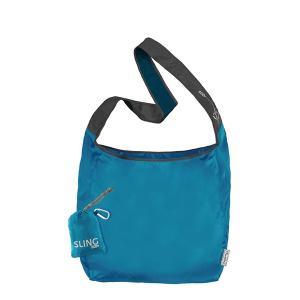 ChicoBag チコバッグ チコバッグ スリングrePETe オーシャン 19430003 ブルー エコ 折りたたみバッグ ファッション レディースファッション エコバッグ|od-yamakei