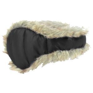 180S ウィメンズイヤーウォーマーDOWNWFUR/ 10 ESCW0003 女性用 ブラック マフラー ファッション レディースファッション 財布 ファッション小物|od-yamakei